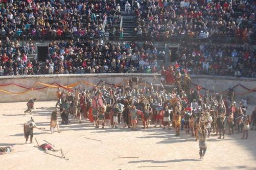 Nimes 2016_Acclamazione di Ottaviano