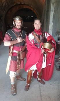 Nimes 2016_Darius con Ottaviano Augusto