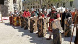 Nimes 2016_Legio VI schierata