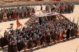Nimes 2016_Legioni schierate per il saluto